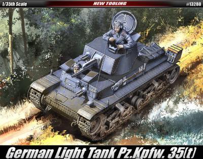 Немецкий легкий танк Pz.Kpfw. 35(t)