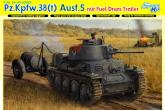 Танк Pz.Kpfw.38(t) Ausf.S mit FUEL DRUM TRAILER (SMART KIT)