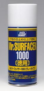 Грунтовка спрей Mr.SURFACER 1000 DELUXE