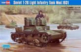 Танк Soviet T-26 Light Infantry Tank Mod.1931