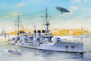 Корабль French Navy pre-dreadnought Voltaire Battleship