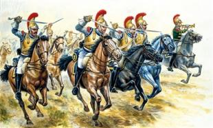 Солдаты French Hussars Napoleonic Wars