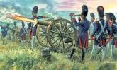 Солдаты FRENCH IMPERIAL GUARD ARTILLERY (NAP. WARS)