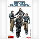 Фигуры SOVIET TANK CREW for Flame Tanks & Heavy Tanks of Breakthrough