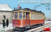 Трамвай SOVIET TRAM X-SERIES. EARLY TYPE