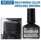 Смывка MR.WEATHERING Color - Ground Brown
