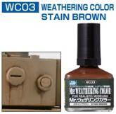 Смывка MR.WEATHERING Color - Stain Brown